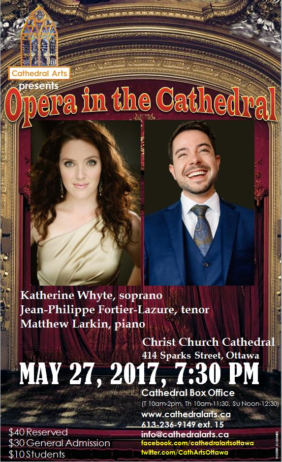 Opera in the Cathedral poster