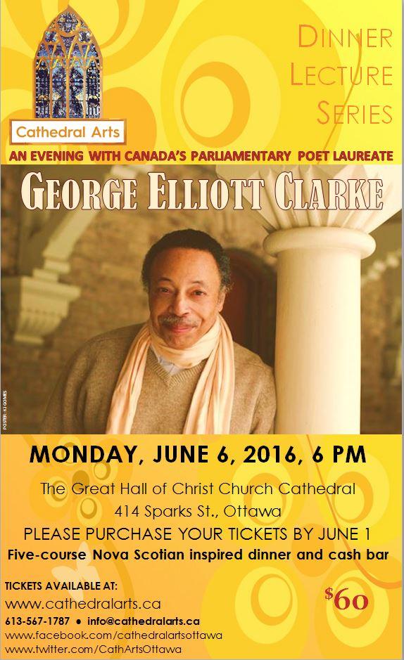 George Elliott Clarke poster
